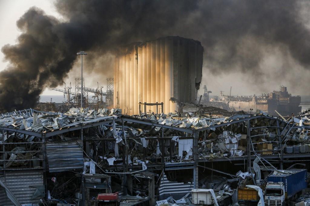 Eksplozija u Bejrutu, Libanon