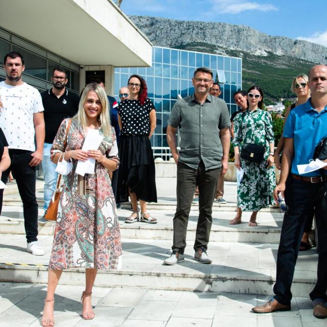 Dobitnici potpore i gradonačelnik Dalibor Ninčević