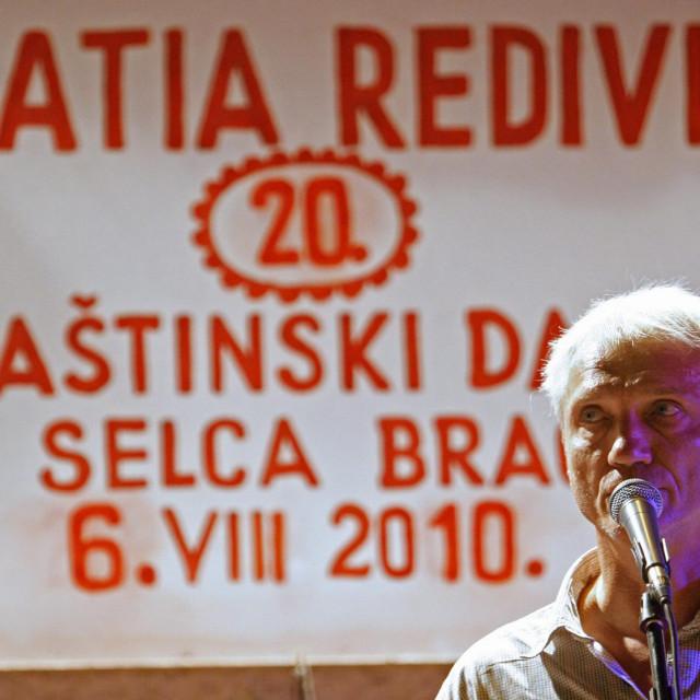 Darko Rundek na 20. obljetnici pjesničke smotre<br />
