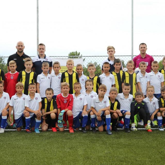 Nogometna akademija Konavle i Hajduk (Split) foto: Božo Radić/HANZA Media