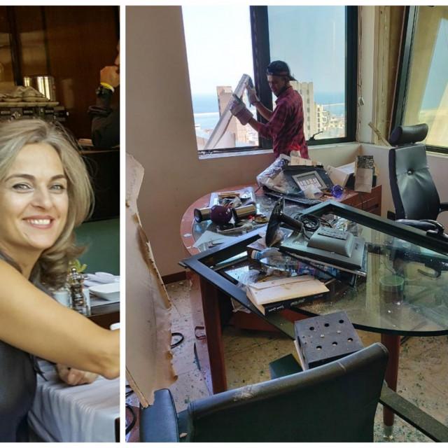 Lara je Hrvatica po majci, a ovako izgleda njezin ured u Bejrutu
