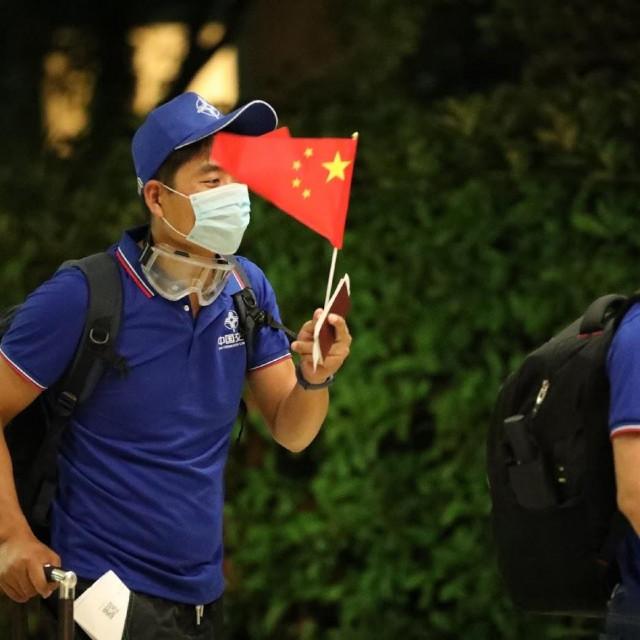 Kineski radnici odsjeli su u Hotelu Tirena, za dva tjedna će na gradilište Pelješkog mosta