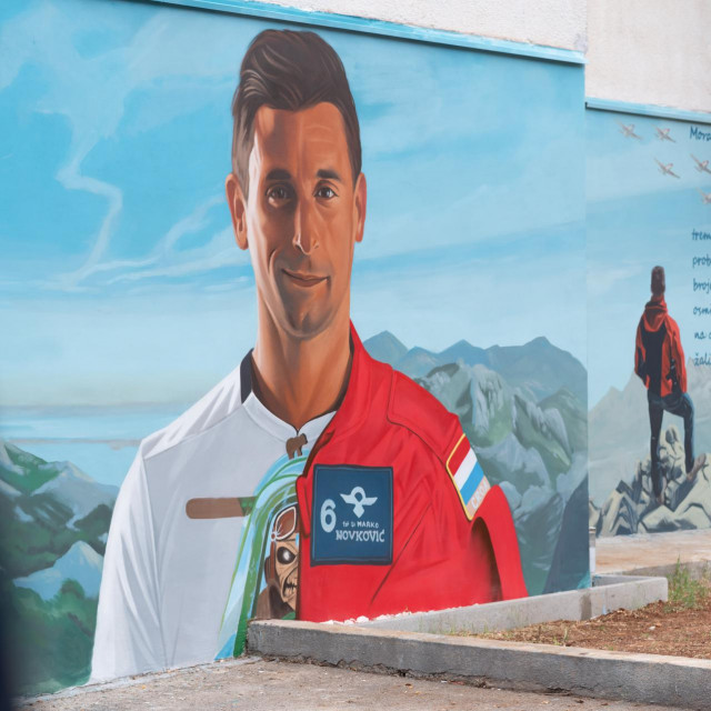 Mural Marka Novkovića u Zadru