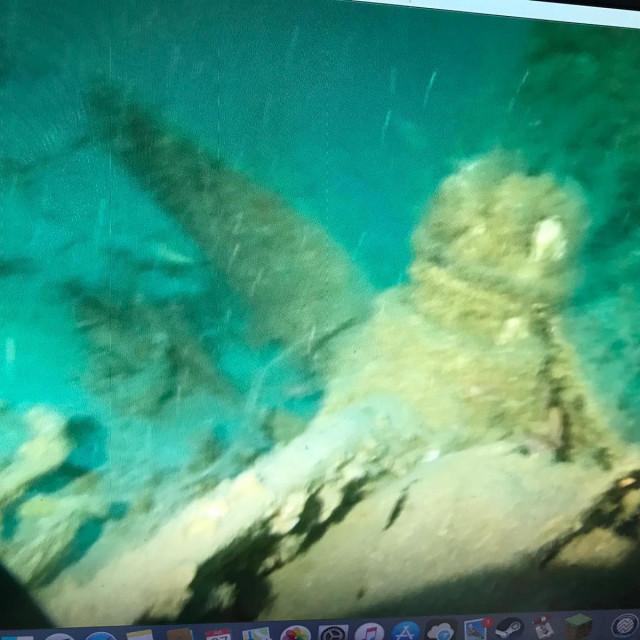 Bombarder 'Nestrpljiva djevica' pronađen je na dubini od 98 metara
