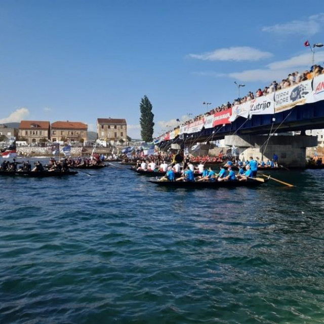 Maraton lađa, Neretva 2020., utrka Neretvom