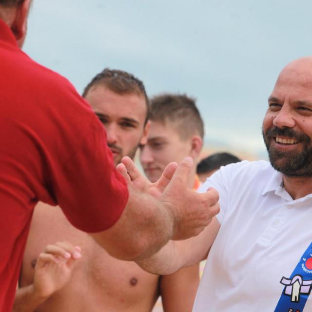 Đani Pecotić, trener juniora Jug Adriatic osiguranja foto: Tonči Vlašić