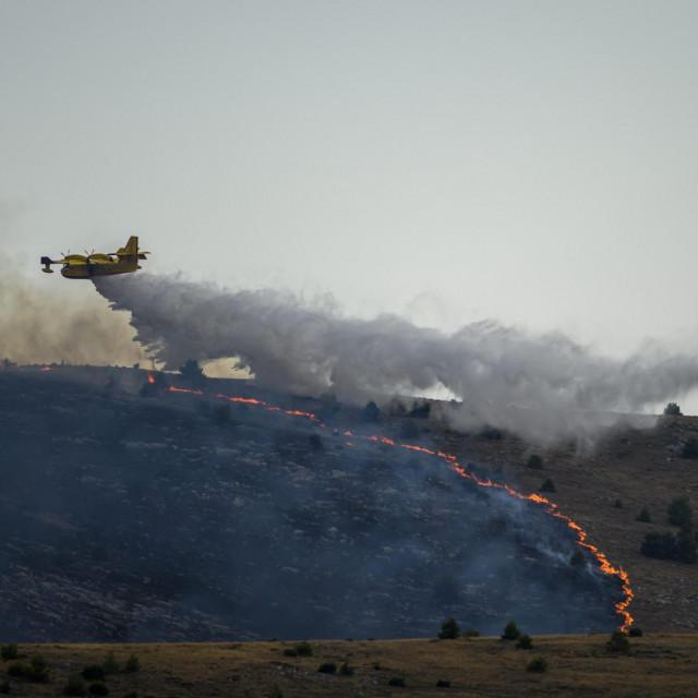 U ponedjeljak je stanje dobro na požarištima na šibenskom području
