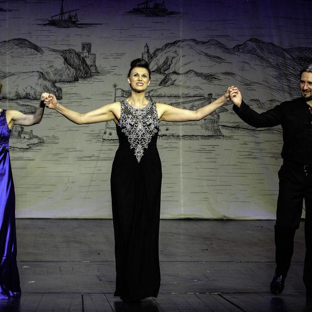 Gordana Pavić, Nera Gojanović i Vedran Garić već su zajedno nastupali pred šibenskom publikom
