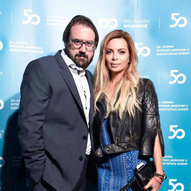 Na fotografiji: Vidoje i Nikolina Ristović