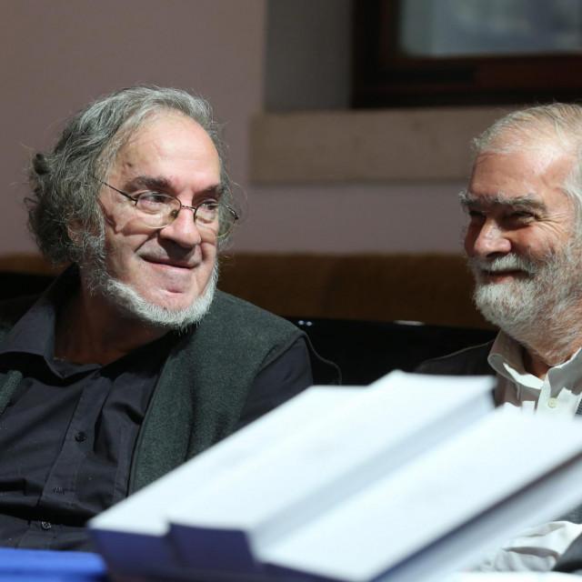 Luko Paljetak i Tonko Maroević, više od pola stoljeća prijateljstva<br />