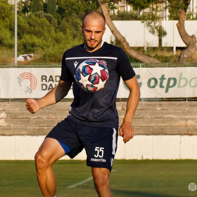 Todorović je odradio prvi trening s momčadi