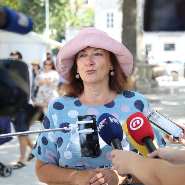 Dubravka Šuica na Brsaljama o EU potpori za sanaciju potresa u Zagrebu