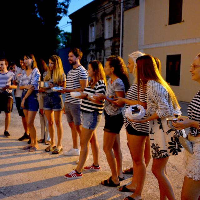 Na Zlarinu je održana tradicionalna Brudetijada
