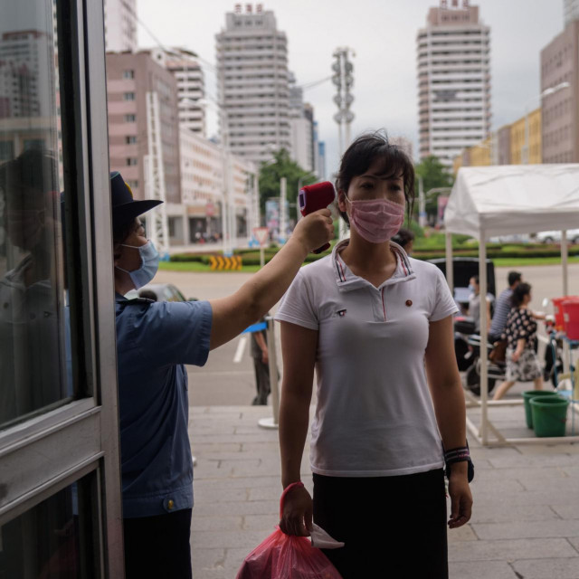 Mjerenje temperature u Pjongjangu
