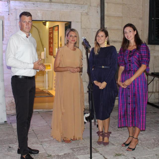 Tonko Smokvina, Ivona Šimunović, Jelena Tamindžija i Magdalena Prkut