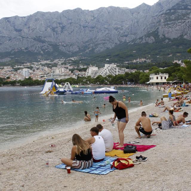 Makarska plaža - jedno od omiljeh ljetnih odredišta Makarna