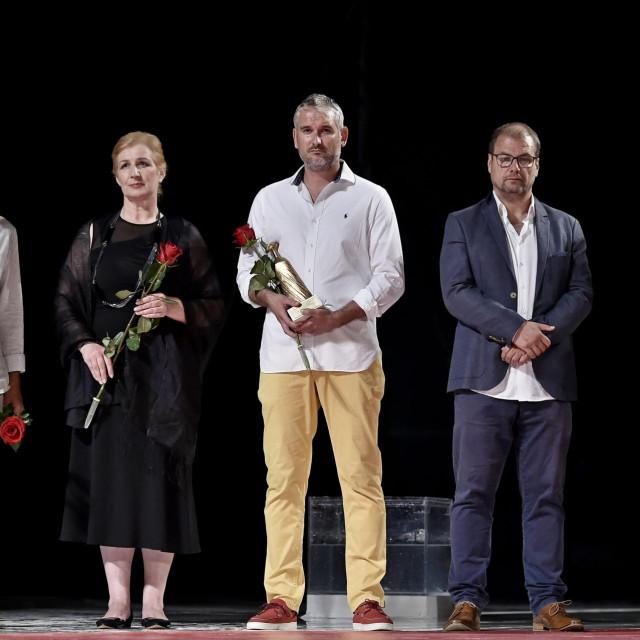 Trpimir Jurkić, Snježana Sinovčić Šiškov, Jure Bučević (preuzeo je nagradu umjesto Ive Lipanovića), Jadran Kapor i Siniša Kekez