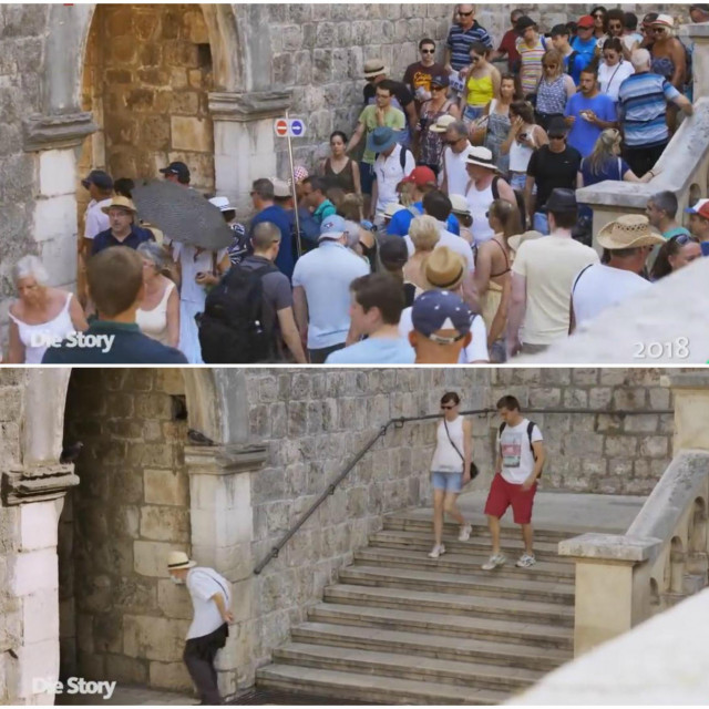 Njemački WDR o turizmu u Dubrovniku