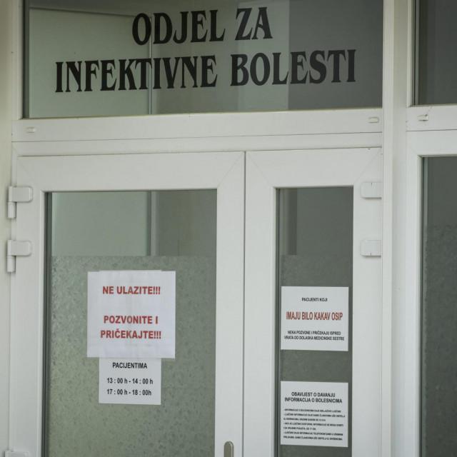 U šibenskoj bolnici od Covida-19 se liječe tri pacijenta