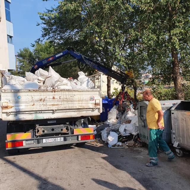 Mini deponiji na istoku grada barem privremeno su očišćeni