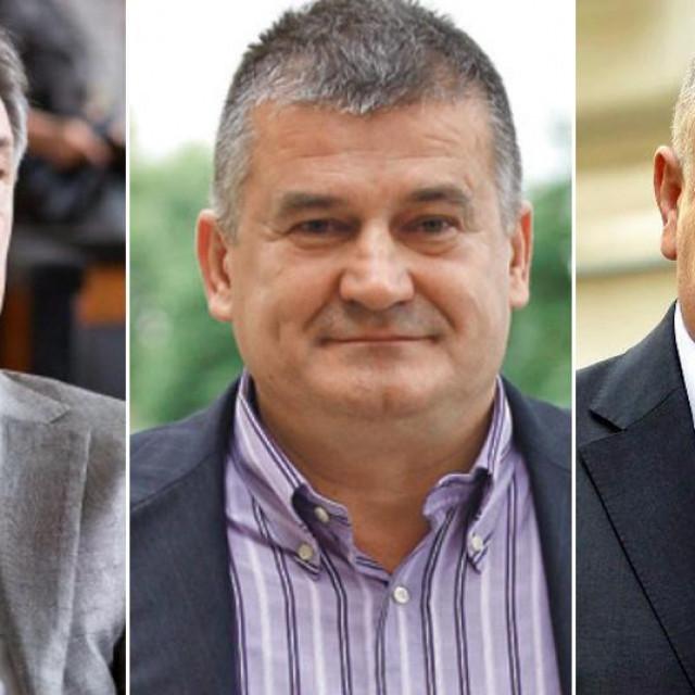 Zdravko Mamić, Miroslav Kutle, Drago Tadić