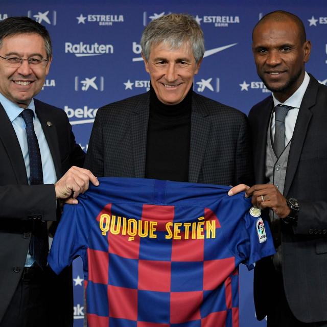 Dva su bivša, za sada u klubu ostaje samo predsjednik Bertomeu