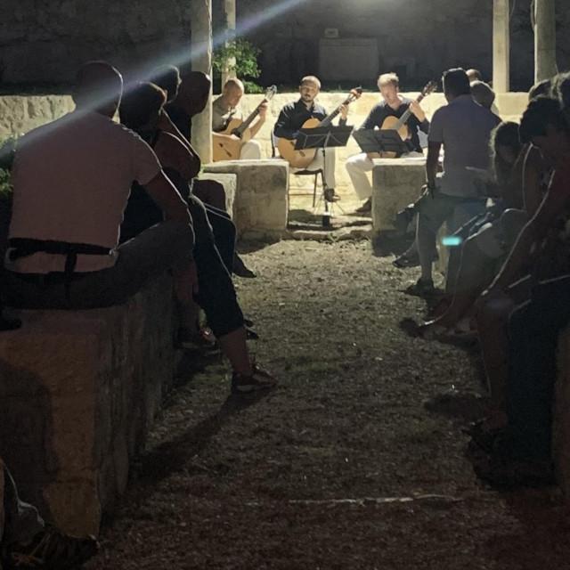 Na Mljetu je održan koncert Splitskog gitarističkog kvarteta