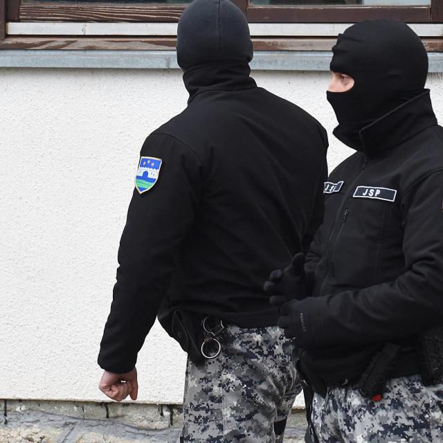 Policija na ulicama Bihaća