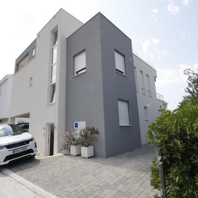 Kuća u Splitskoj ulici u kojoj odsjeda ministar Marić s obitelji