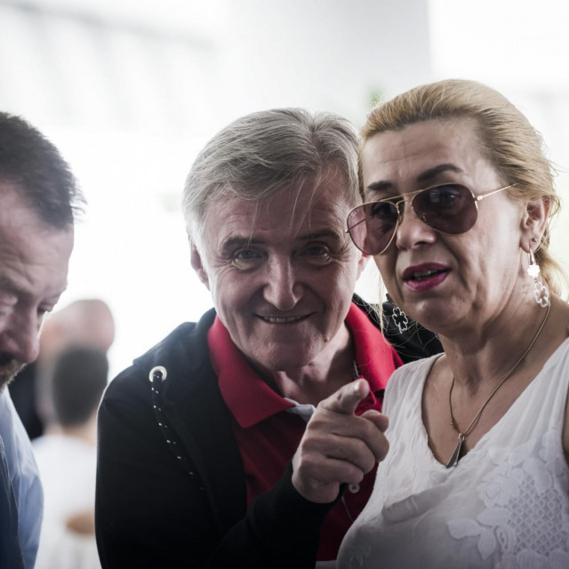 Rajko i Snježana Dujmić naCMC festivalu