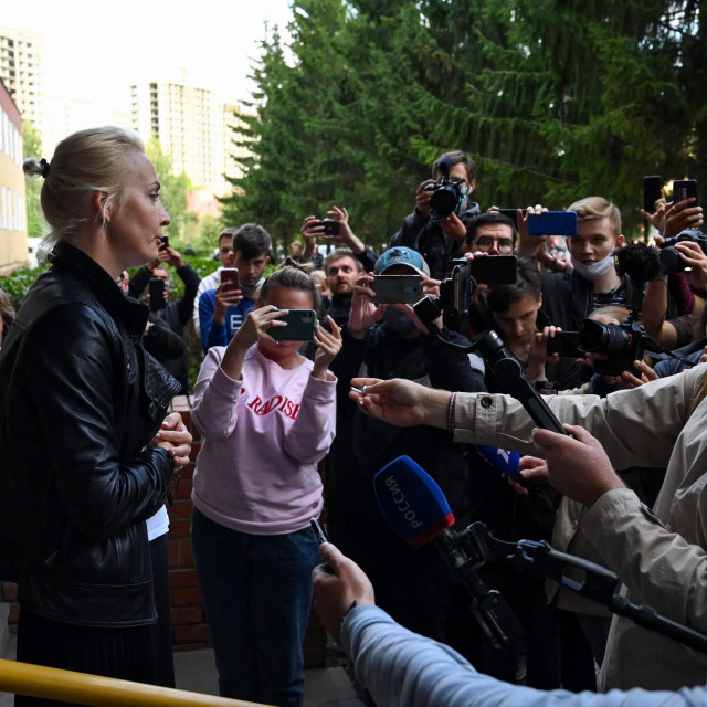 Julia Navaljnaja, supruga ruskog čelnika oporbe Alekseja Navaljnoga