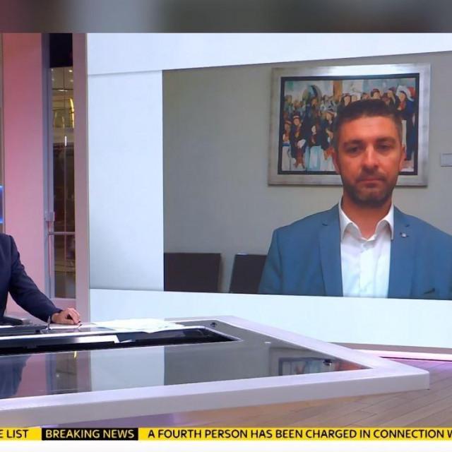 Frankovićev razgovor za Sky News