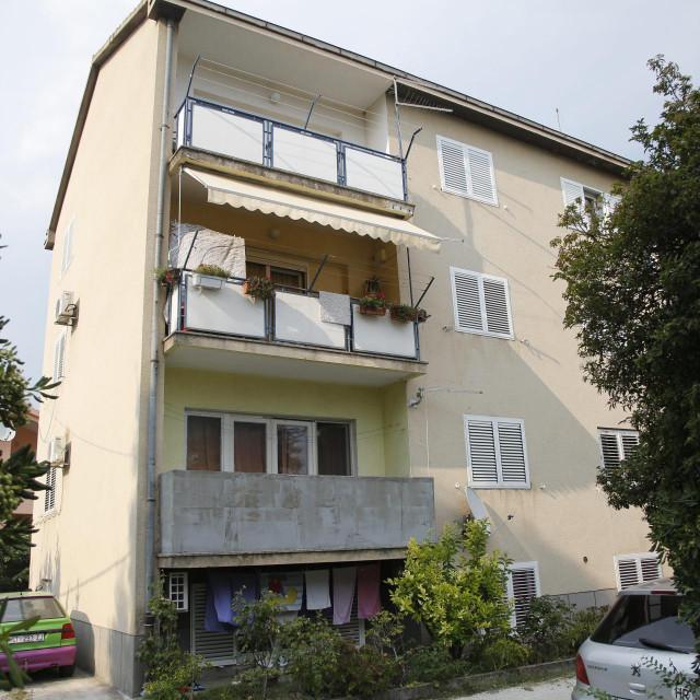 Zgrada u Trogiru u kojoj se dogodilo ubojstvo<br /> Vojko Bašić/HANZA MEDIA
