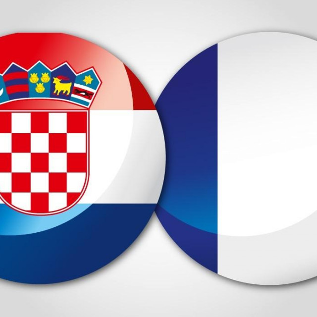 Hrvatska - Francuska / grafički dizajn: Kristijan Grljević