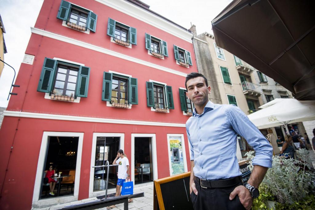 Fabiano Baranović, izvršni direktor hotela