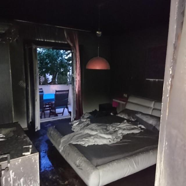 Požar u kući u Solitudu