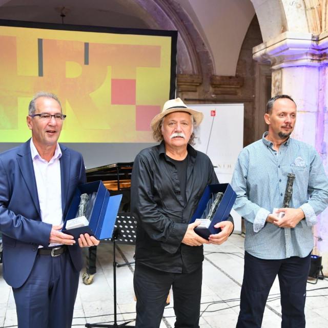 Dobitnici nagrade Orlando u atriju palače Sponza