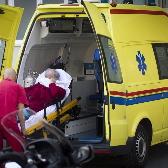 Zaraženi korisnici domova za starije hospitalizirani su u KBC-u Split