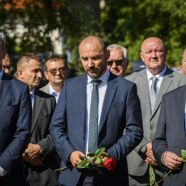 Boris Milošević na komemoraciji u Plavnom