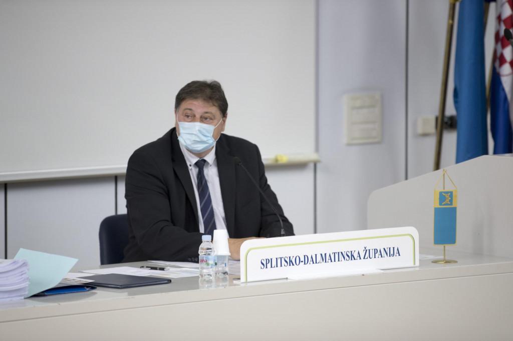 Predsjednik Županijske skupštine Petroslav Sapunar<br />