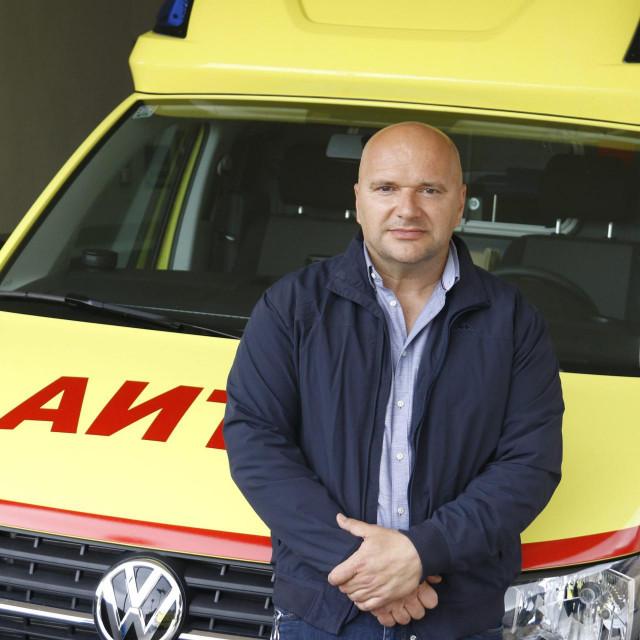 Dr. Mate Kasalo, voditelj ispostave Hitne medicinske pomoći Makarska