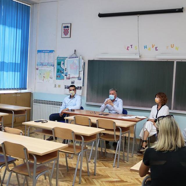 Sastanak uoči početka školske godine