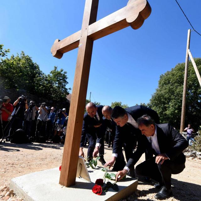 Za pijetet ratnim žrtvama nikad nije kasno - Milošević, Medved, Milanović i Pupovac na komemoraciji u selu Grubori