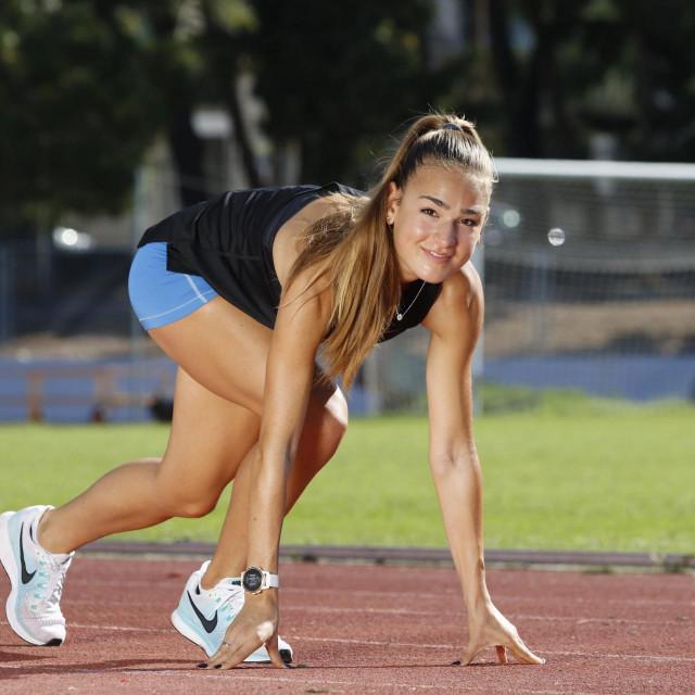 Klara Andrijašević je najbolja hrvatska atletičarka u juniorskoj i seniorskoj konkurenciji na 1500 metara