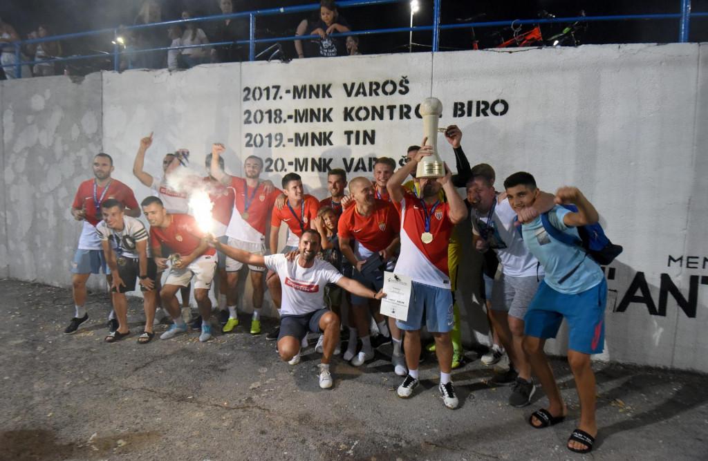 Slavlje ekipe MNK Varoš