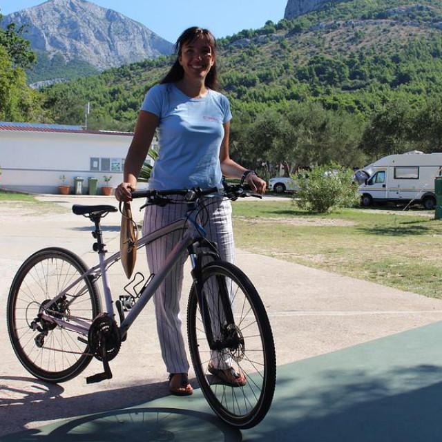 Jelica Matutinović. voditeljica kampa 'Viter'