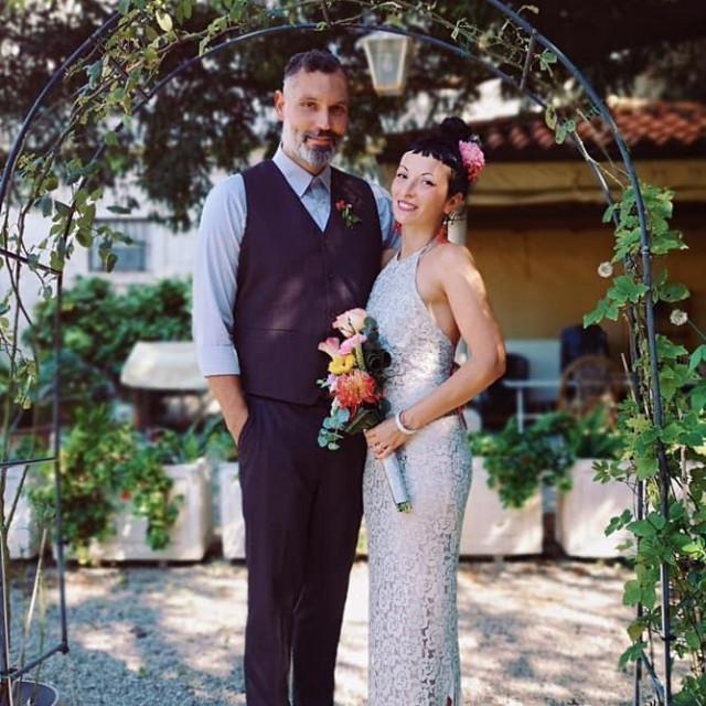 Ines Tričković i Božidar Jukić izmijenili su bračne zavjete