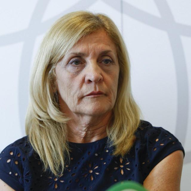 Predsjednica KoHOM-a i zamjenica predsjednika Hrvatske liječničke komore,dr. Vikica Krolo