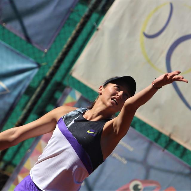 Lucija Ćirić Bagarić Tenis Dubrovnik Cup ITF foto Tonči Vlašić