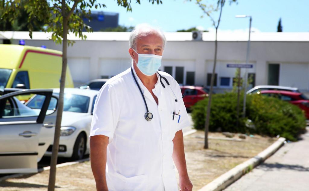 Dr. Ivo Ivić: Od 17. lipnja kada možemo kazati da je počeo drugi val, u KBC-u Split je hospitalizirano 155 bolesnika s COVID bolesti, a njihova prosječna životna dob je 66 godina